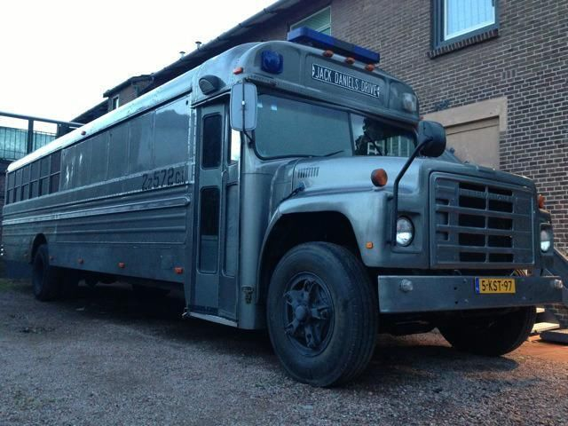 International Bus Camper UNIEK!!