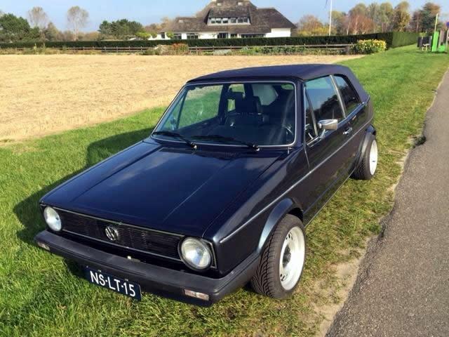 Garagebedrijf Black8 - Volkswagen Golf Cabriolet 1.8 16V te koop