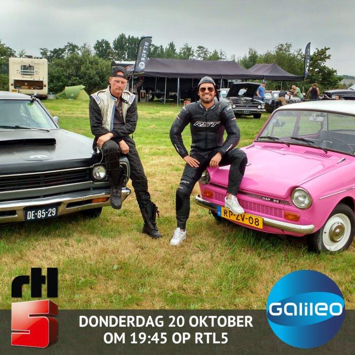 Garagebedrijf Black8 - Dragrace Drachten tegen Manuel van Galileo op RTL5