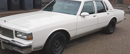 Chevrolet Caprice onderhoud Amerikaanse garage