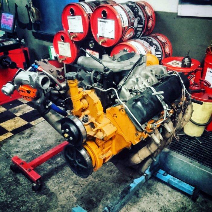 Project 6.2 V8 turbo diesel voor 1929 Hudson