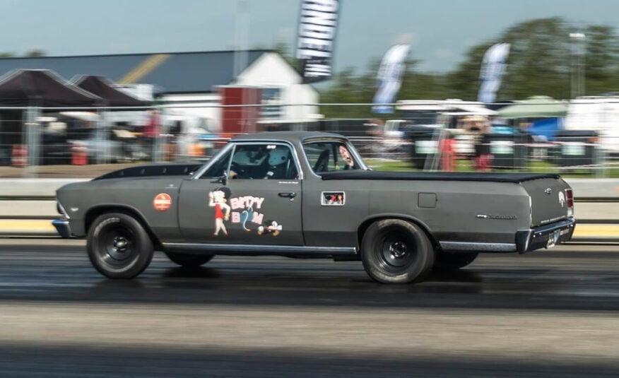 Chevrolet El Camino Dragrace auto 383 stroker Drachten