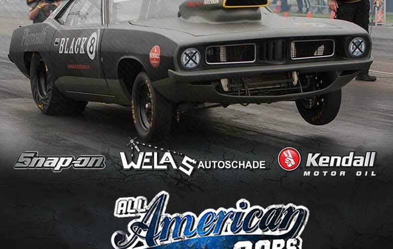 Black8 op All American Cars