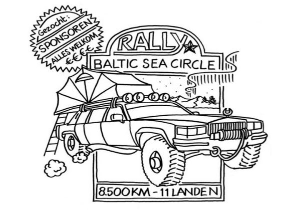 Rally Baltic Sea Circle - Garagebedrijf Black8