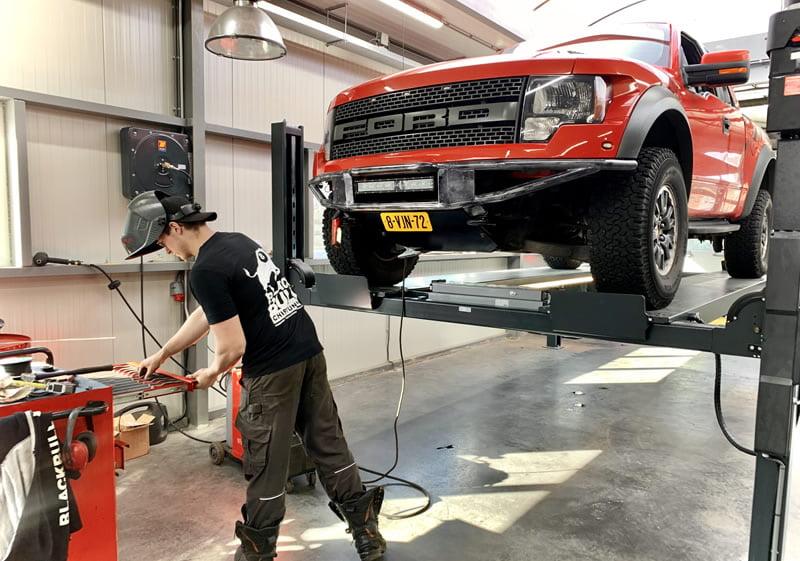 Ford lassen in Castricum voor APK