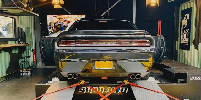 Chiptuning van Dodge Challenger Hellcat