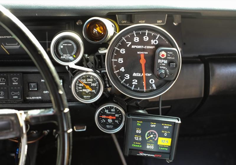 Dodge stroker V8 injectie