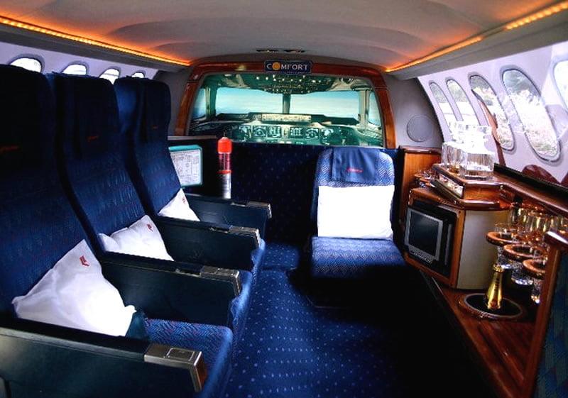 Limo gebouwd voor Martinair