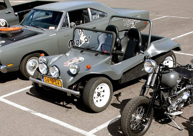 Plymouth harley Davidson Volkswagen Buggy Chevy