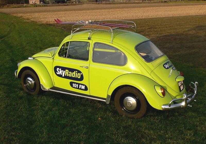 Volkswagen Kever gebouwd in opdracht van Skyradio