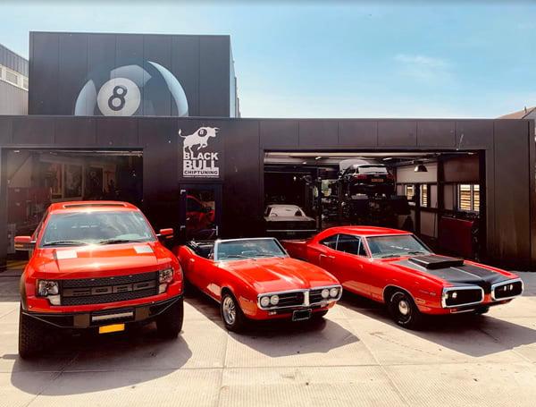 Amerikaanse auto garage onderhoud import reperaties in omgeving zaandam alkmaar haarlem schagen amsterdam hoofddorp huizen muiden