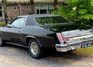 1975 Oldsmobile Cutlass Supreme Hurst benzine lpg apk t-top 350 5.7 Hurst racing uitvoering achterkant velgen