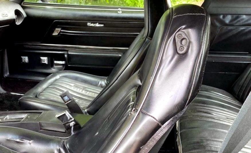 1975 Oldsmobile Cutlass Supreme Hurst benzine lpg apk t-top 350 5.7 Hurst racing uitvoering stoelen