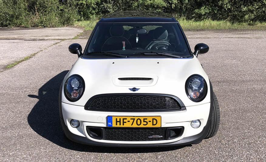 Te koop Mini Clubman John Cooper Works occasion tweedehands Castricum Heemskerk Uitgeest Heiloo wit creme
