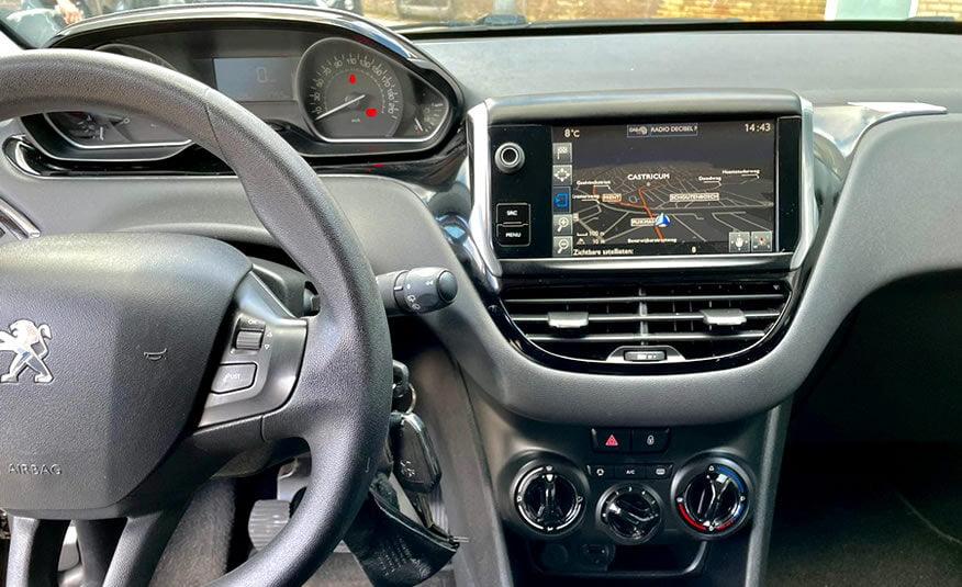 2017 Peugeot 208 navigatie