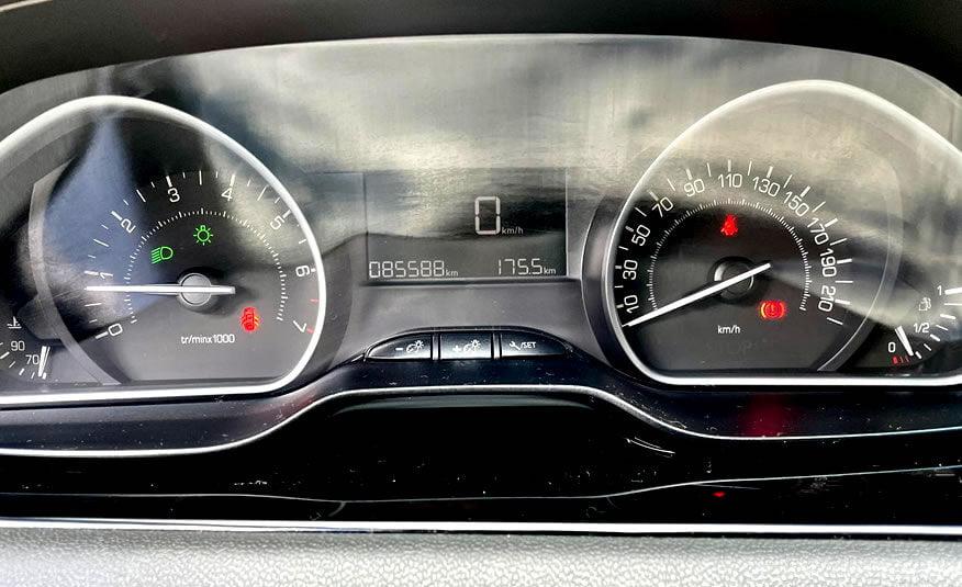 2017 Peugeot 208 tellerunit