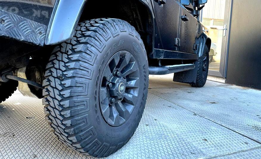 Land Rover velgen met Goodyear banden