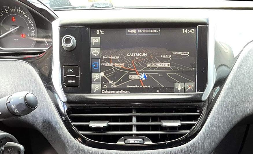 2017 Peugeot 208 radio navigatie