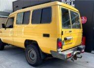 Te koop Toyota Land Cruiser 70 geel diesel bedrijfsauto te koop