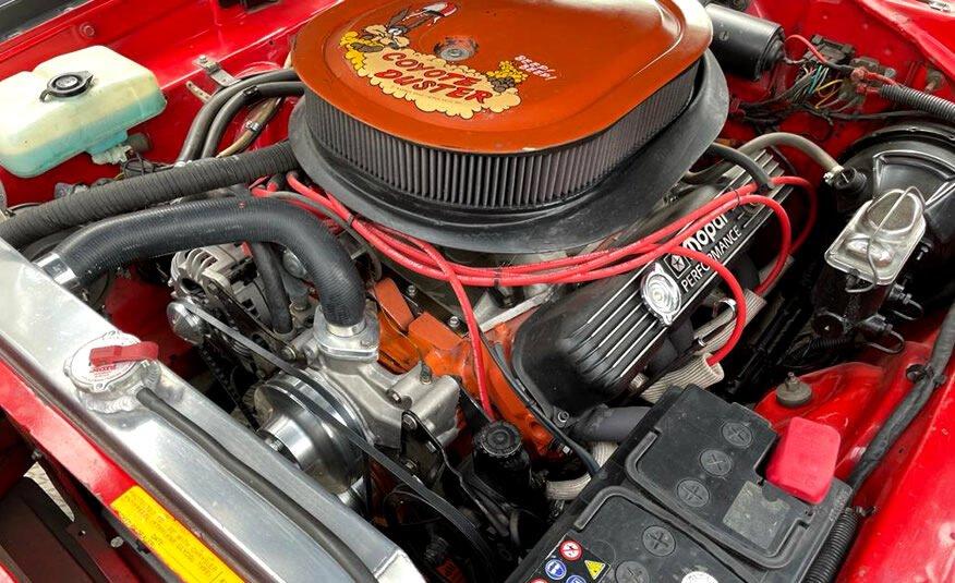 Mopar Plymouth Dodge 440 big block opgevoerd